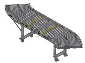 Carter Control System (CCS) Mobile Conveyor S-Curve Section
