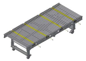 Carter Control System (CCS) Mobile Conveyor Straight Section